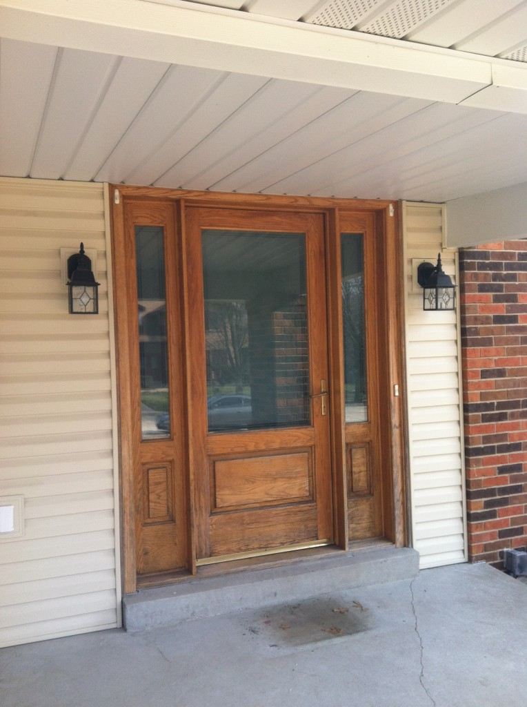 Replacement entry doors in st louis with pro via doors for Door window replacement