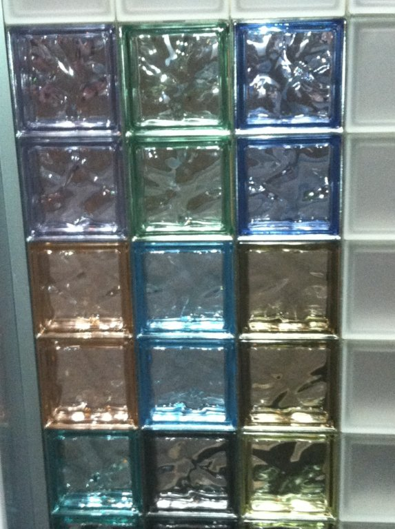 Colored Glass Blocks From Seves