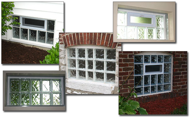 Basement Glass Block Windows