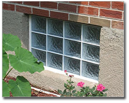Glass Block Basement Windows