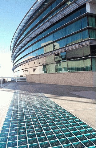 Glass Block Pavers 6 Quot And 8 Quot Glass Block Paver Floor Systems