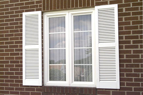 Twin Casement Windows