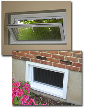 Basement security windows in st louis how to secure for Glass block alternatives