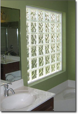 Glass Block Bathroom Windows In St Louis Privacy Glass