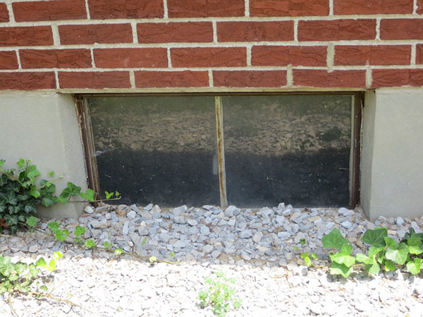 Glass Block Basement Windows In St Louis Basement