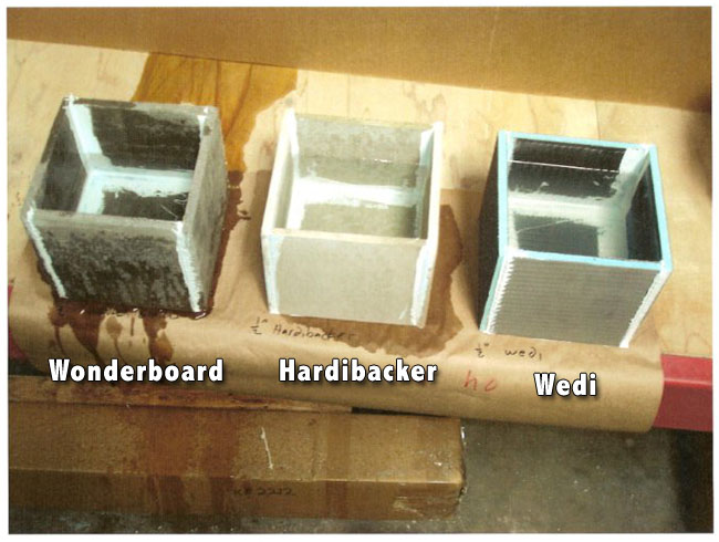 Backer Board Or Cement Board Comparison Review Floor Underlayment