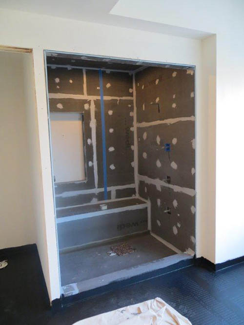 Wedi Shower System Wall Boards Ceramic Tile Backer Board