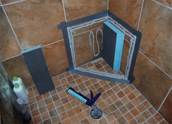 Wedi Shower Systems 2 Quot Backer Board Ready For Tile
