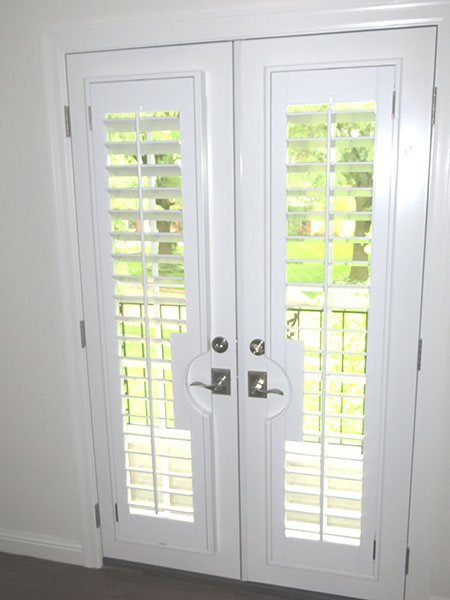 French Doors With Shutters French Patio Doors In St Louis
