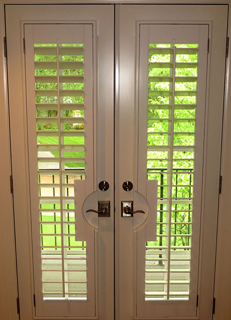 French Doors With Shutters