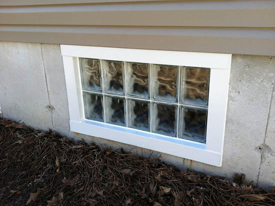 Energy saving and privacy with basement security windows for Basement windows