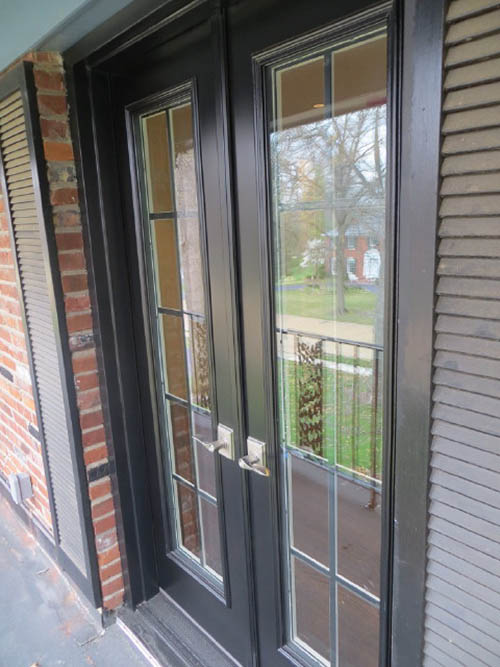 French patio doors in st louis fiberglass patio door for Storm doors for patio doors