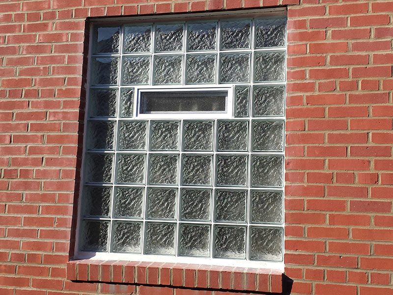 Glass Block Bathroom Windows