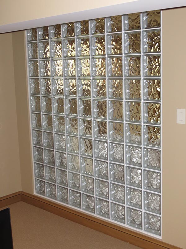 Glass Block Walls on office cube walls