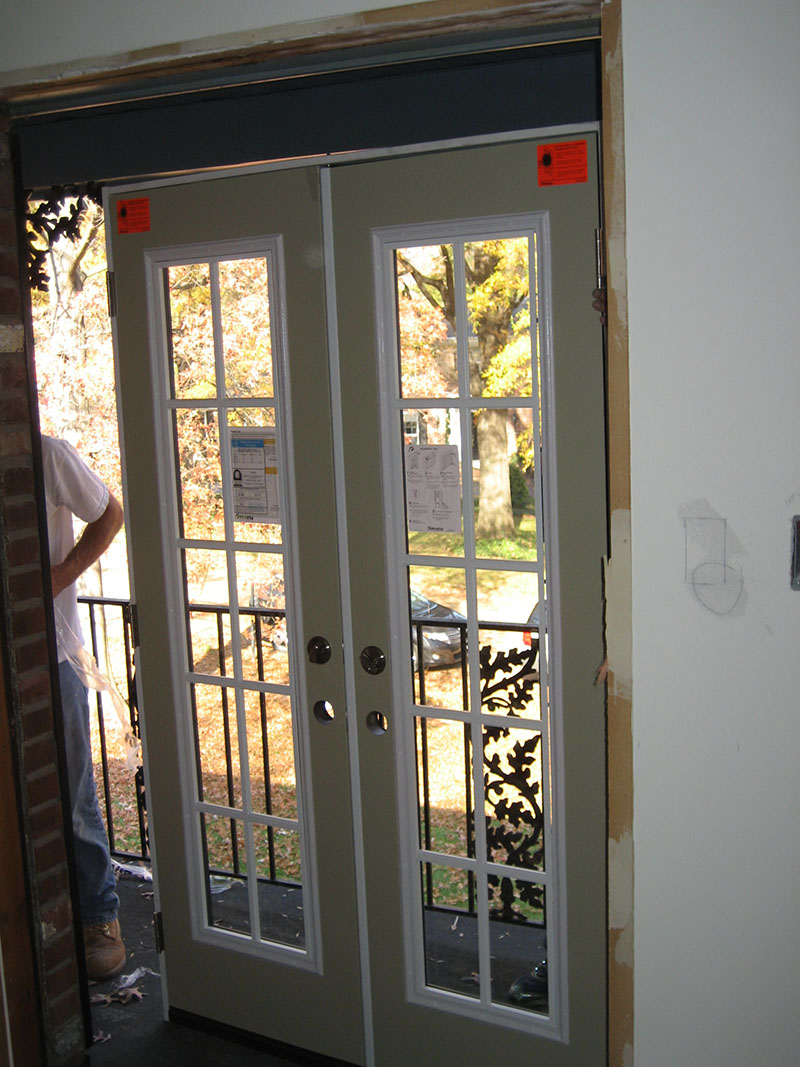 French Patio Doors In St Louis Masonry Amp Glass Systems Inc