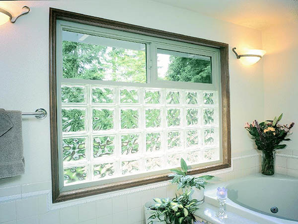 Bathroom window options glass block windows st louis for Glass block options