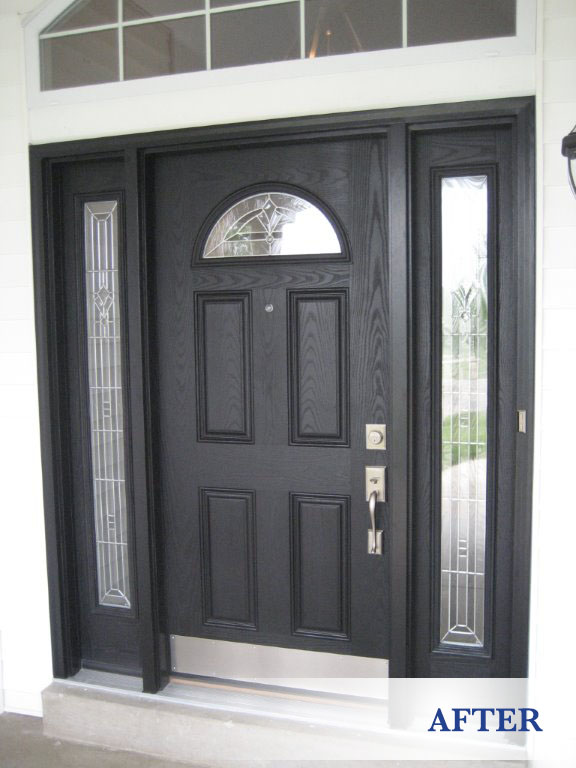 Replacement entry doors in st louis glass residential for Entry door replacement