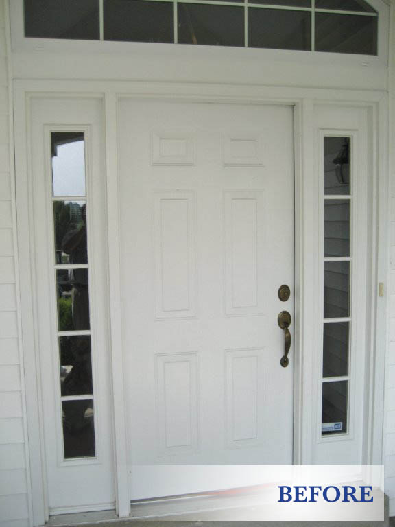 Replacement entry doors in st louis glass residential for Residential front doors with glass