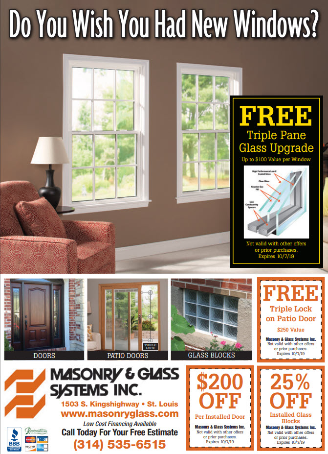fall special masonry and glass st louis